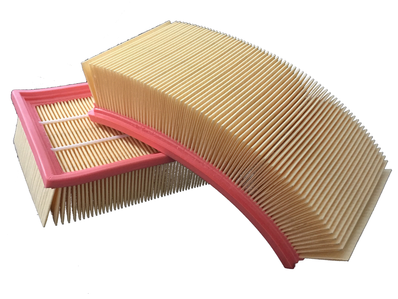 10x Staubsaugerfilter wie Flex 337.692 Flachfalten-Filter
